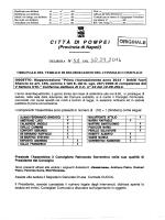 N.58 del 30.09.2014 Riapprovazione