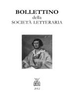 Bollettino 2012 - Società Letteraria di Verona