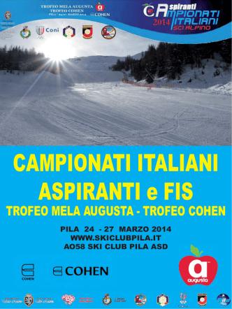 CAMPIONATI ITALIANI ASPIRANTI e FIS