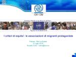 OIM - Progetto Mattone Internazionale