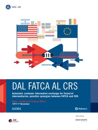 DAL FATCA AL CRS 2014 Programma