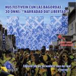 "nus festivein cun las bagordas 30 onns: ""narradad dat libertad"""