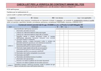 atti 13.6.2014 check list