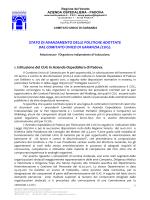 Relazione sullo Stato di Avanzamento delle Politiche del CUG