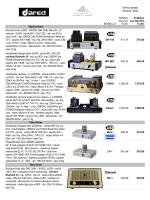 listino prezzi ottobre 2014