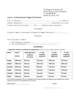 Modulo autorizzazione - Liceo Concetto Marchesi