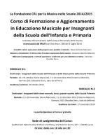 Corso di Aggiornamento 2014 - Istitutocomprensivocalcinaia.it