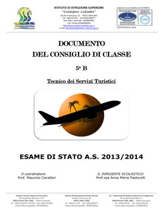 5 a B TST - C. Colombo