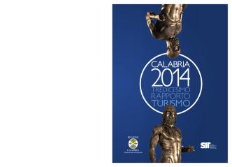 Calabria 2014 – Tredicesimo rapporto sul Turismo