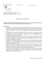 DCA_45_2014 rete laboratoristica
