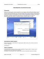 Introduzione ai servizi di Linux
