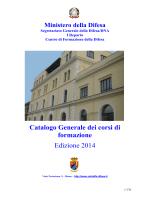 CEFODIFE – catalogo corsi 2014
