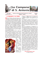 La Campana di S. Antonio - Parrocchia di S.Antonio
