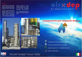 Componenti per impianti biogas