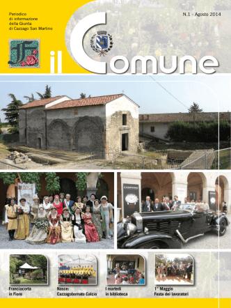 Agosto - Comune di Cazzago San Martino