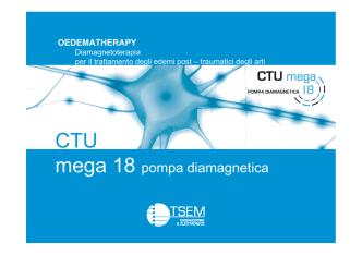 Corso CTU Mega - oedematherapy - TSEM
