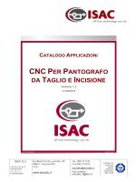 CNC PER PANTOGRAFO DA TAGLIO E INCISIONE
