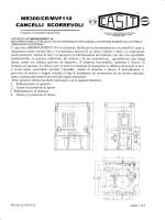 MODELLO MR3OO/CR/MVF110 6000 Kg