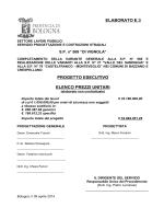 Tav. E.3 Elenco Prezzi unitari