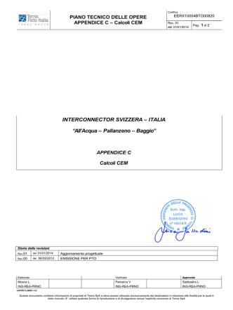 Appendice C - Calcoli CEM
