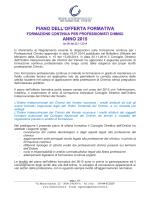 piano 2015 - Ordine dei Chimici di Venezia