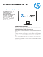 Display professionale HP DreamColor Z27x