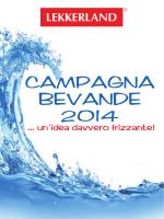 CAMPAGNA BEVANDE 2014