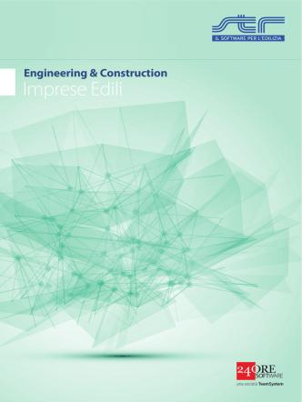 Brochure Imprese edili ed impiantistiche