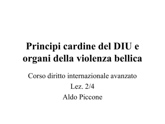 2. DIU 2014 - Università degli Studi di Pavia