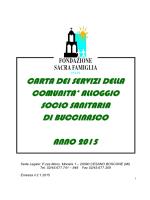 CSS BUCCINASCO 2014 bis Pdf - Fondazione Sacra Famiglia Onlus