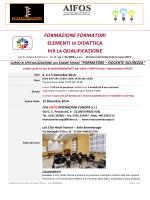 Scarica Programma del corso Formato ( PDF )