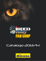 Catalogo Ufficiale completo del Fan Shop Imoco Volley
