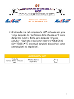 Comunicato ufficiale 01 - 30 settembre 2014_SACCA