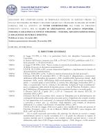 Università degli Studi di Cagliari D.D.G. n. 381 del 23 ottobre 2014