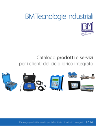 BMIdrodata - BM Tecnologie