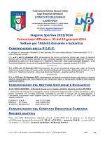 C.U. n. 35 L.N.D.-S.G.S. del 16.01.2014