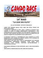 LA VOIE DES PUITS-Programma - Palermo Adventure 4x4 Club