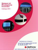 Sistemi di Rivelazione Incendio Catalogo 2014
