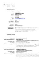 Curriculum Vitae Enrico Morelli