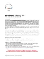 regolamento concorso 2015