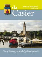 BdM 2009-2014 - Comune di Casier