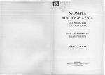 Mostra bibliografica dei musicisti cremonesi dal