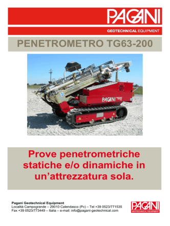 cliccare qui - Pagani Geotechnical Equipment