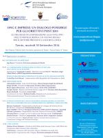 Il programma del seminario - Cooperazione Italiana allo Sviluppo