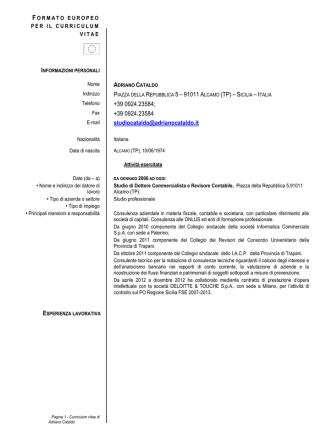 apri - Istituto Autonomo Case Popolari di Trapani