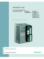 Convertitori con le Control Unit CU240B-2 e CU240E-2