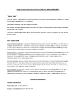 "Programmi estate Associazione TMTasd: MOUNTAIN BIKE ""Sabot"