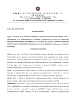 liceo scientifico- linguistico statale