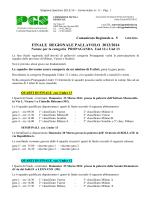 Comunicato N^5 – Propaganda - PGS Comitato Regionale Lombardia