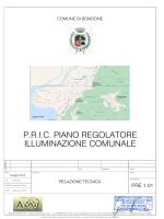 Relazione tecnica - Comune di Bondone